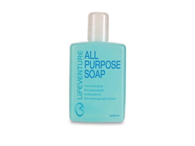 LifeVenture All Purpose Soap - Sæbe til alt - 200 ml