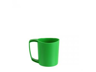 LifeVenture Ellipse Plastic Camping Mugs - Letvægts Krus - Grøn