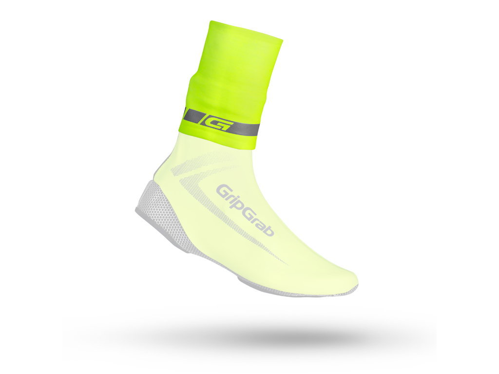 Image of   GripGrab - HI-VIS CyclingGaiter - Neon gul - Str. L/XL