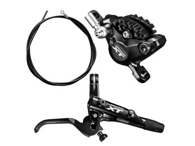 Shimano XT M8000 - Hydraulisk bremsesæt - Bag/højre - Resin
