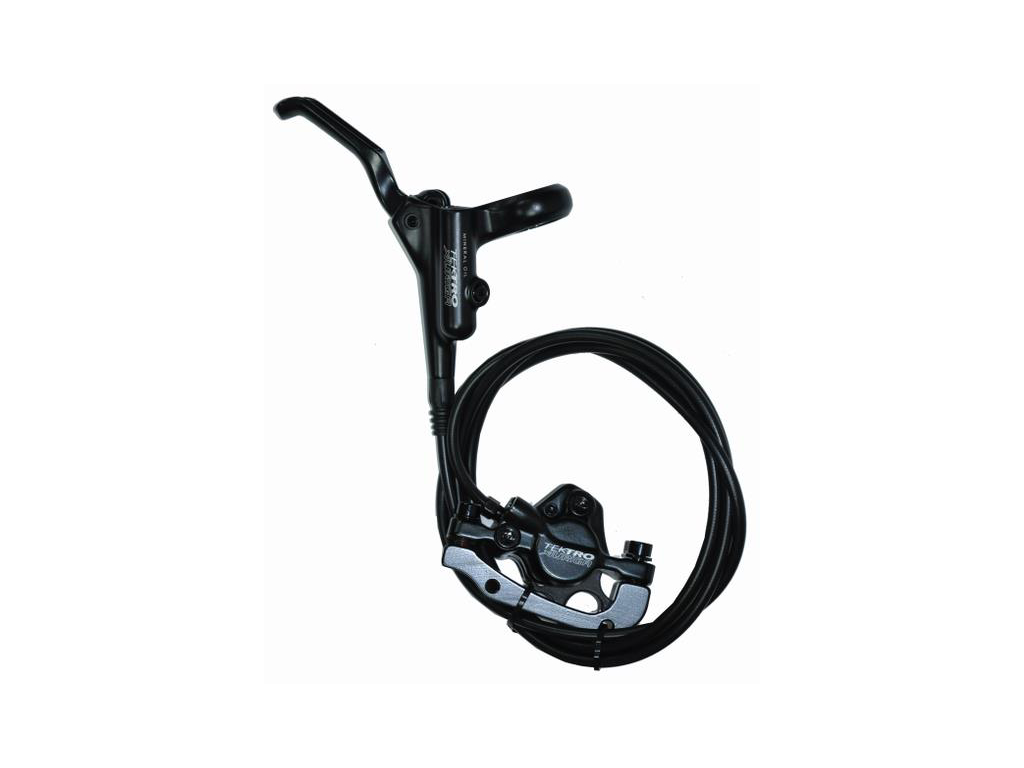 Tektro Auriga-R Hydraulisk bremsesæt til bag med olie - uden rotor thumbnail