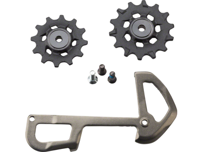 Sram X01 Eagle pulleyhjul & inderplade - 12 gear - 12 & 14 tænder - Grå