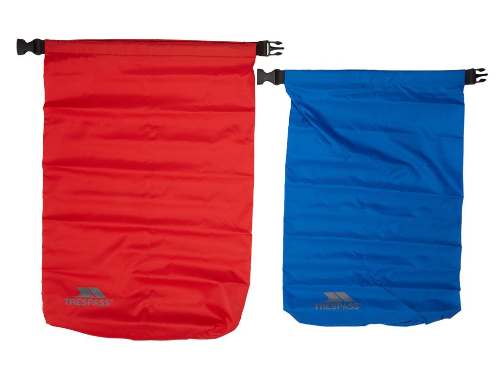 Image of   Trespass Euphoria - Drybag sæt - 10 liter blå - 15 liter rød