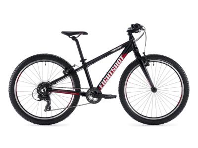 "Eightshot X-Coady 24 FS - MTB Børnecykel 24"" - Sort/rød/hvid"