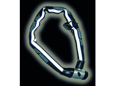 Security Plus RKS 100 - Kædelås - 6 mm - 100 cm lang - Med nøgle - Sort