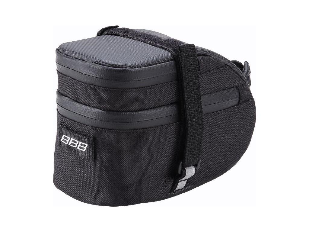 BBB - EasyPack L - Sadeltaske med velcro - Vandtæt - Sort