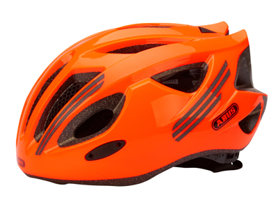 Abus S-Cension - Cykelhjelm - Neon Orange