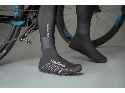 GripGrab Race Thermo X Off road - Vandtæt skoovertræk - Sort