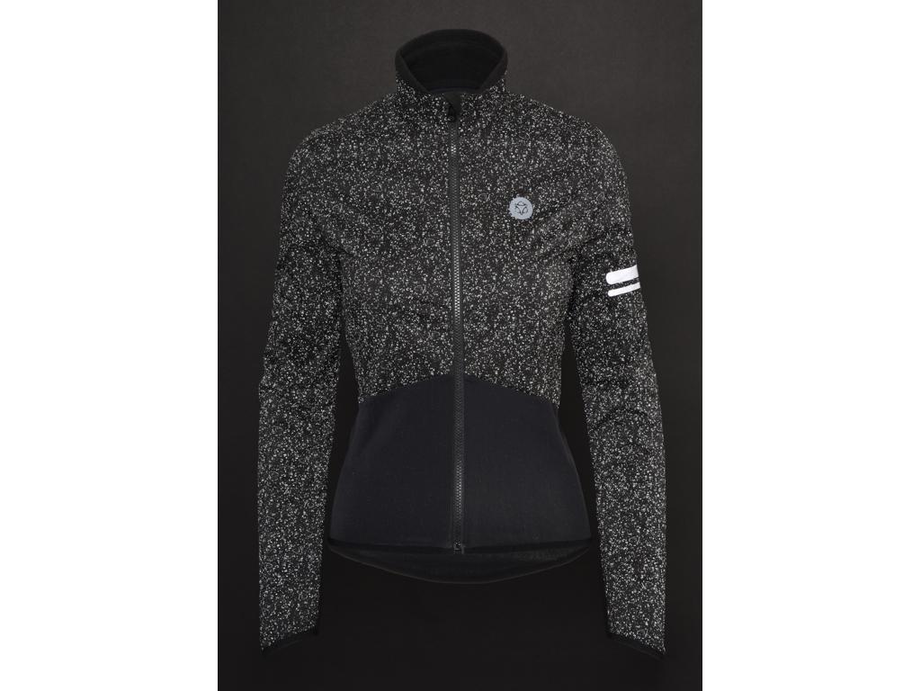 AGU Essential Thermal Bike Jacket Damer HiViz