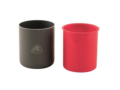 Robens Wilderness Cup - Kopp - Svart/Röd