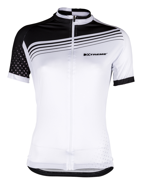 XTreme X-Rainbow - Cykeltrøje - Dame - Hvid/Sort | Jerseys