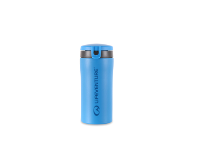 LifeVenture Flip-Top Thermal Mug - Termomugg - 0,3 L - Blå