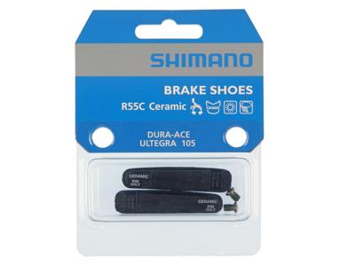 Shimano Dura Ace - Bremseklodser til keramiske fælge - 1 sæt