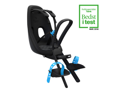 Thule Yepp Nexxt Mini - Cykelstol med 5-punktssele - Sort