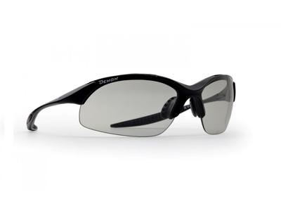 Demon 832 DCHROM - Löpar- och cykelglasögon med fotokromatiska linser - Mattsvart