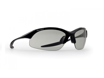 Demon 832 DCHROM - Løbe- og cykelbrille med fotokromisk linse - Matsort