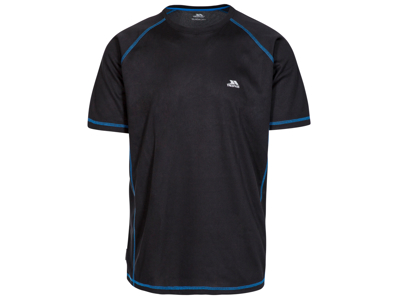 Trespass Albert - T-Shirt Quick Dry - Hr. - Sort