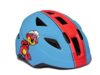 Puky PH 8 - Cykelhjälm - Str. 45-51 cm - Blå/Röd