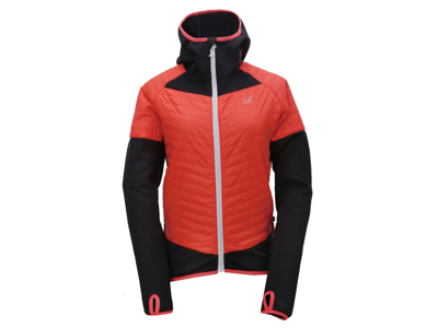 2117 Of Sweden Blixbo Eco Jacket - Hybrid jakke - Dame - Orange/sort - Str. 36