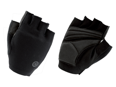 AGU Gloves Essential Power Gel - Cykelhandsker med gel-puder - Sort