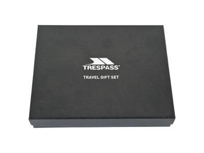 Trespass Wanderlust - Gaveæske med pascover og kuffertmærke - Sort