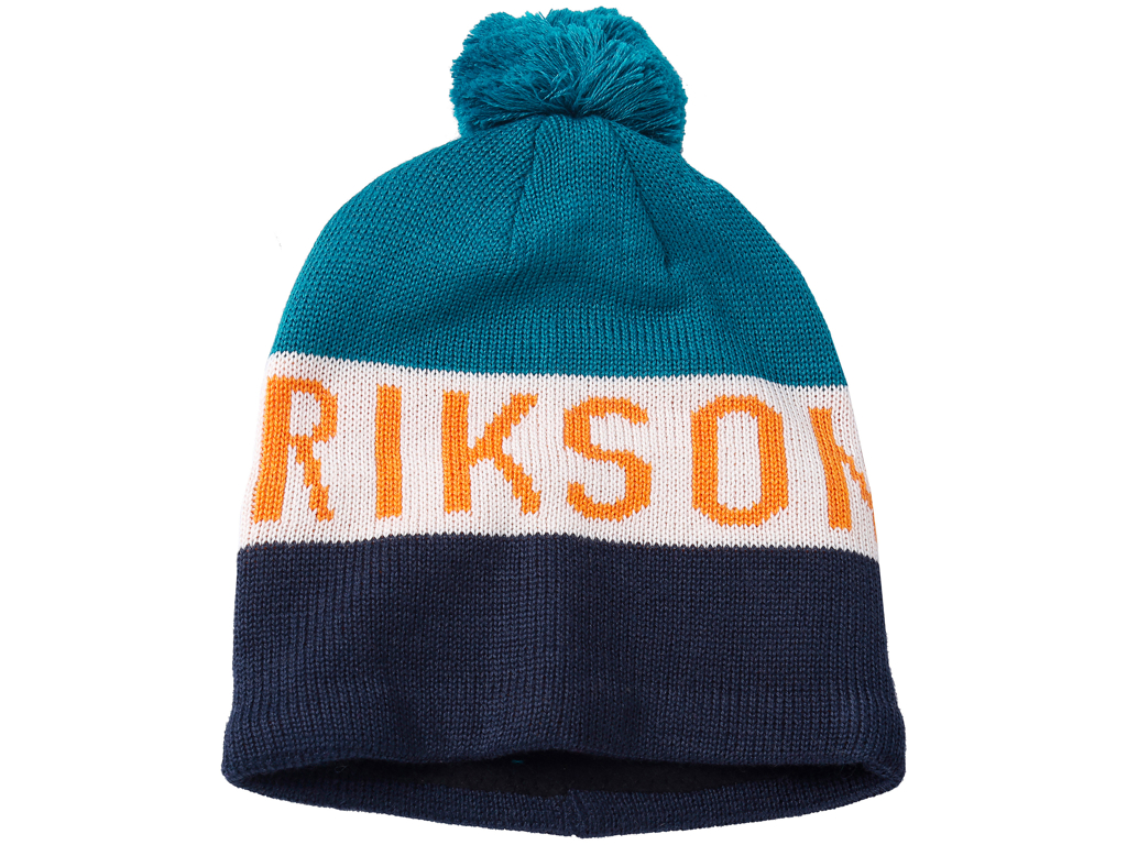 Didriksons Tomba Knitted Youth Beanie - Hue Junior - Blå - One Size thumbnail