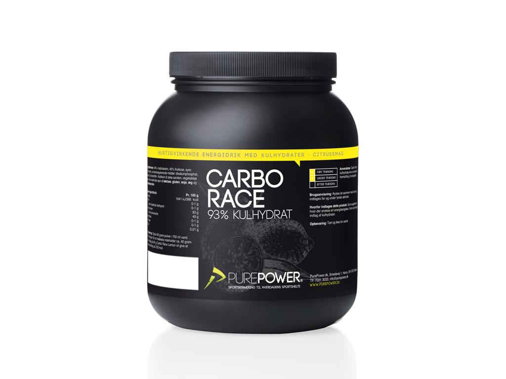 PurePower Carbo Race - Energidrik - Citrus - 1,5 kg