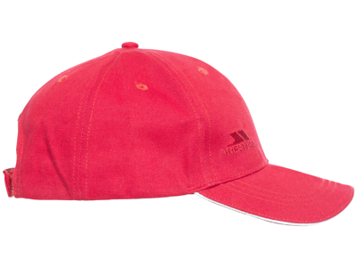 Trespass Carrigan - Baseball Cap - Unisize - Rød