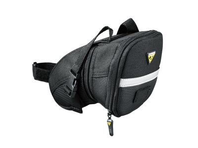 Topeak Aero Wedge Pack - Sadeltaske med stropper - Str. Medium - 0,98 - 1,31 liter