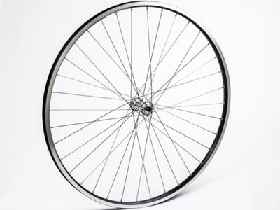 Connect citybike forhjul - 700c - Ryde ZAC19 fælg -  QR nav - Sort/sølv
