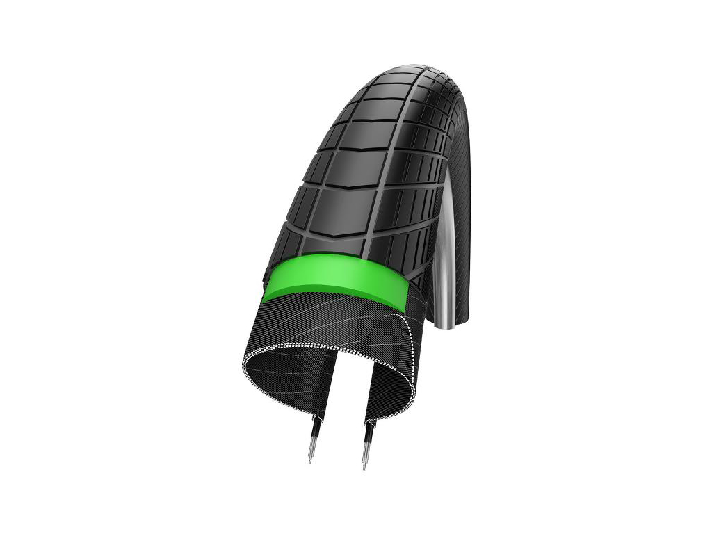 Schwalbe Big Apple Plus GreenGuard cykeldæk - 28x2,00 (50-622)