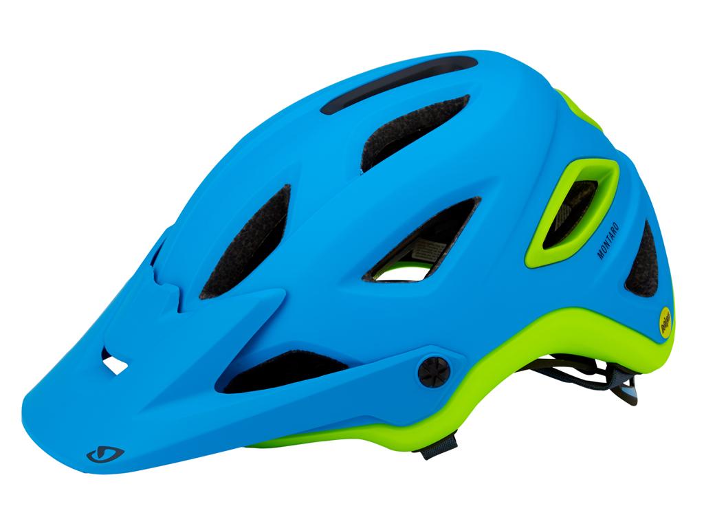 Image of   Giro Montaro Mips - Cykelhjelm - Str. L 59-63 cm Mat blå/lime