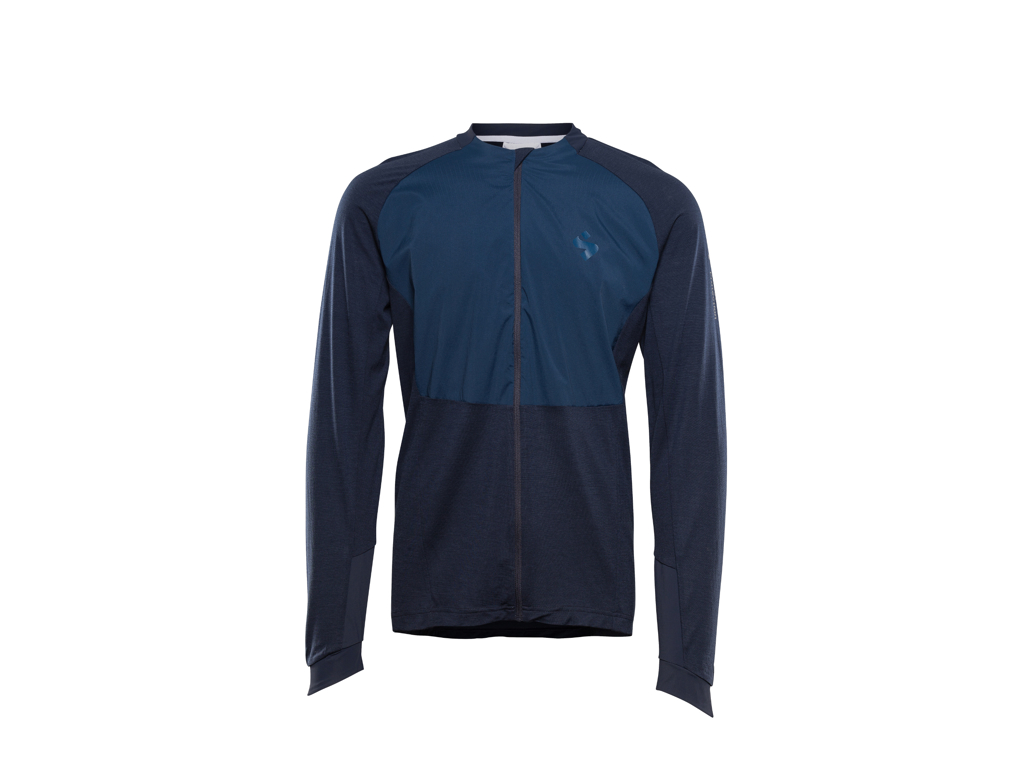 Image of   Sweet Protection Hunter Merino Wind FZ - Cykeljakke - Navy - Str. XL