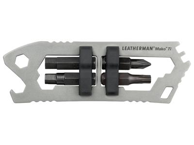 Leatherman Mako Ti - Multitool - 9 Funktioner - Titanium
