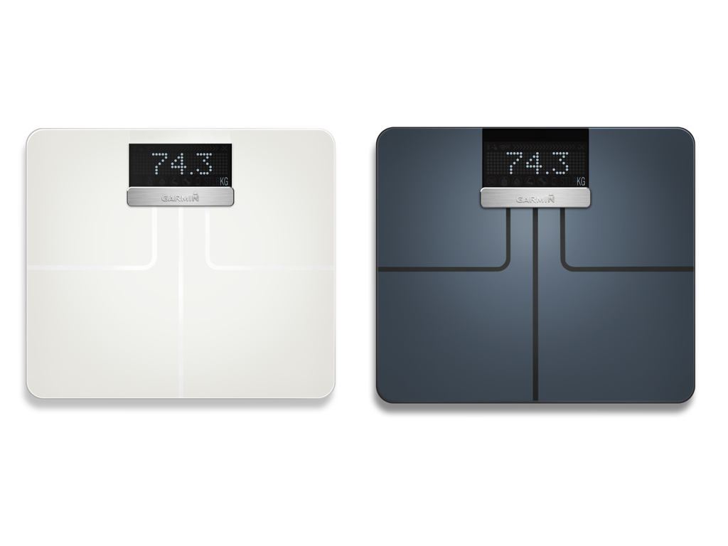 Garmin Index Smart Scale - Vægt der bl.a måler kropsfedt, vand og BMI