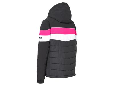 Trespass Kinsale - Skijakke - Dame - Sort/Hvid/Pink