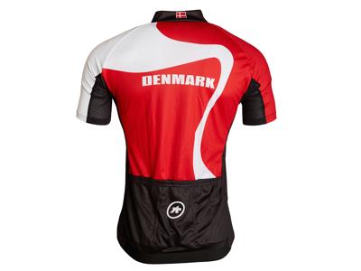 Assos SS Jersey - Cykeltrøje Danmark - Rød