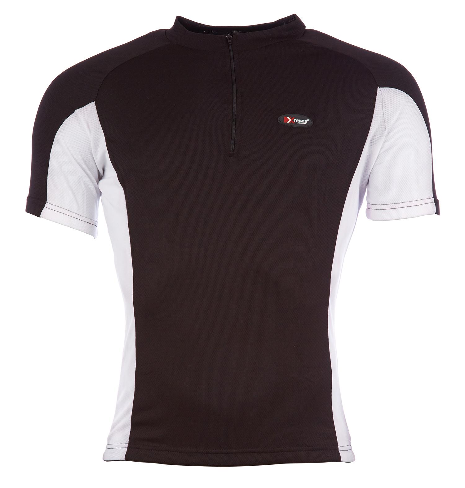 Bluse Xtreme X-Fun Sort/Hvid | Jerseys