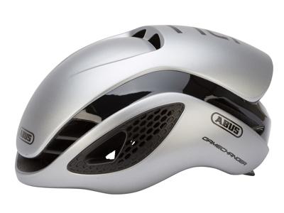 Abus GameChanger - Aero cykelhjelm - Sølv
