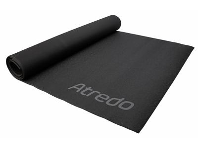 Atredo - Træningsmåtte til hometrainer - Sort