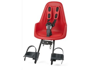 Bobike One Mini - Cykelstol till front - Röd