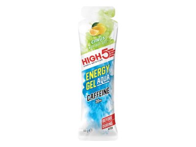 High5 Energy Gel Aqua Caffeine - Citrus 60 ml - 30 mg koffein