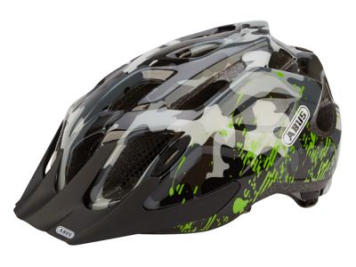 Abus MountX cykelhjelm - Grå camouflage