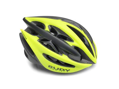 Rudy Project Sterling + - Sykkelhjelm - Gul / matt svart