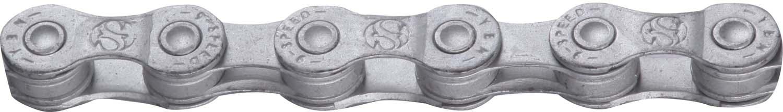 YBN - Kæde 9 Gear - S9-RB - 116 Led - Anti-Rust - Grå | Chains