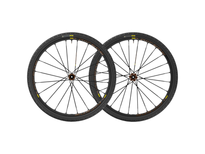 Mavic Allroad Pro UST Disc - Tubeless hjulsæt inkl. dæk - Sram/Shimano - 622x22TSS