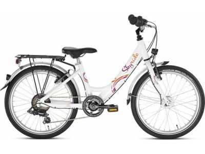 "Puky - Skyride - Barncykel - 20-6 Aluminium 20"" Vit"
