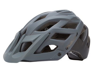 Polisport E3 - Cykelhjelm - Grå/sort - Str. 58-61 cm