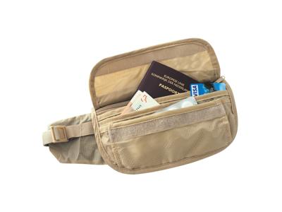 TravelSafe Skin Waist Pouch - Pengabälte - Sandfärgat