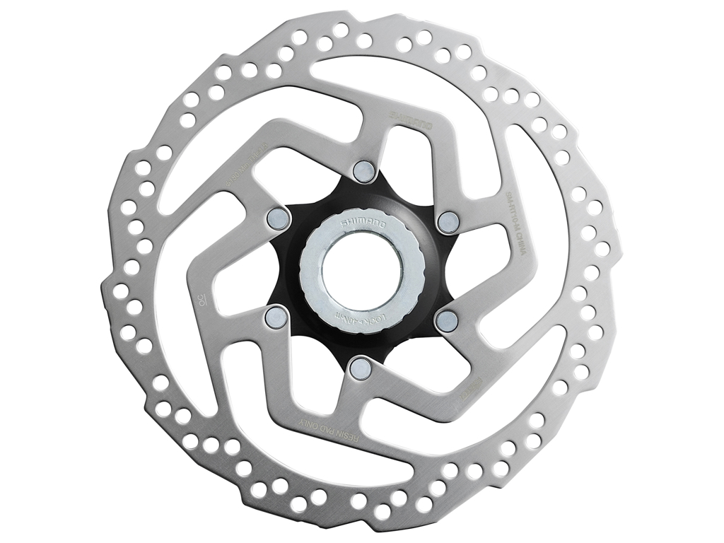 Image of   Shimano Turney - Rotor for skivebremse 180mm til center lock